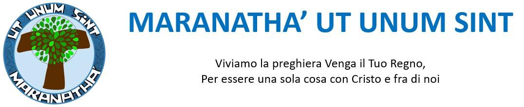 Logo for MARANATHA' UT UNUM SINT